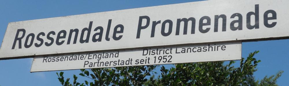 Schild Rossendale Promenade