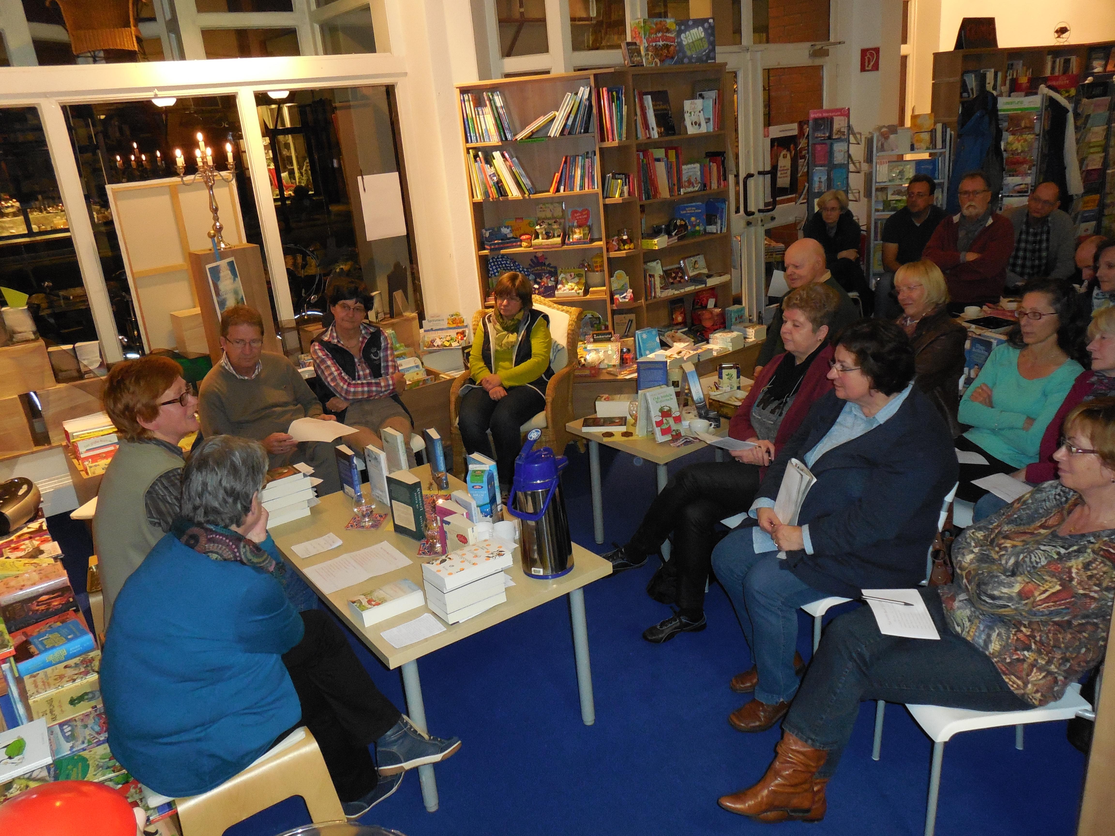 Book and Tea Evening 2014